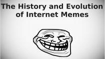 Evolution of Internet memes